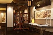 茶艺馆中式装修设计效果图