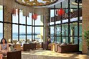 现代中式茶会所装修设计效果图