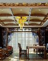 大型茶馆装修设计效果图