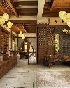 中式茶庄装修设计效果图