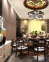 茶餐厅中式装修设计效果图