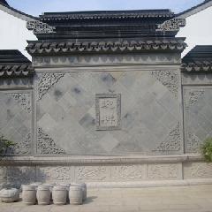 四合院影壁 照壁 屏风墙 纯手工 青砖雕刻