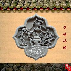 梅花砖雕700X700X40MM