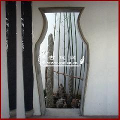 青砖门套,青砖门套线,花瓶拱门,中式庭院门洞