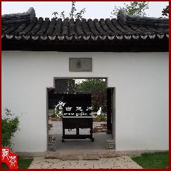青砖长方形门套,青砖门套线,中式庭院门洞,中式门套