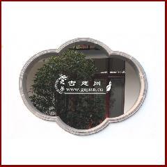 海棠型青砖窗套线