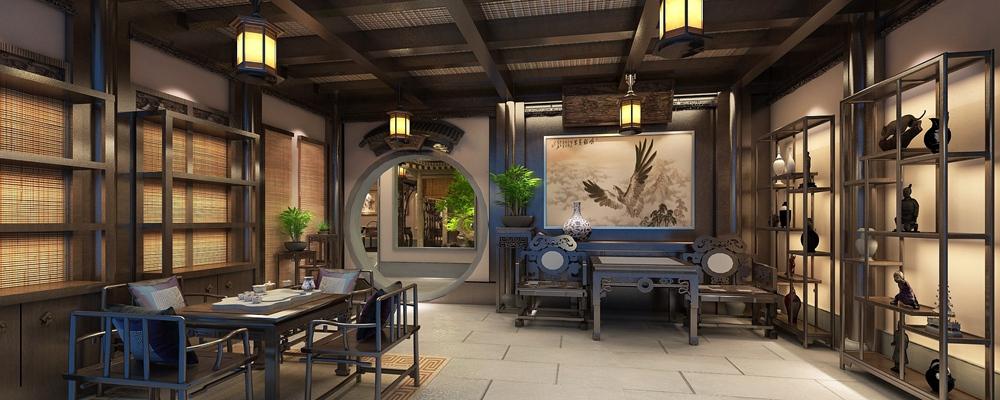 茶艺馆设计案例
